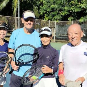 Shirley, Bob, Ayako and Tony.