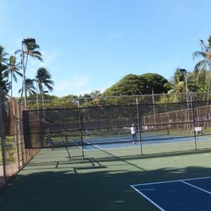 ここでテニスしたいなぁ-