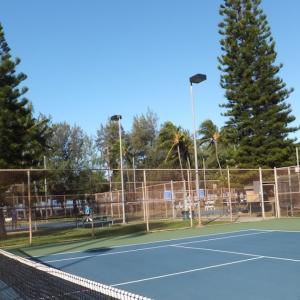 No4 テニスコートから