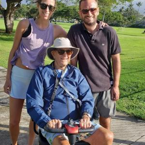 Charlie's family.  photo date Jan. 1. 2020.