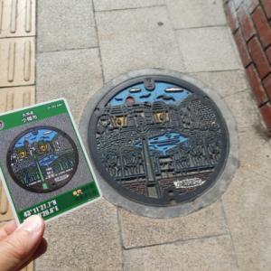 小樽市のマンホールカードと転車台