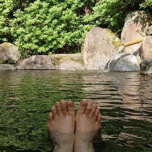 7室しかないのに貸切露天風呂が2つもある伊豆船原温泉「山あいの宿 うえだ」で自粛明けの温泉を楽しむ