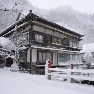 会津若松の名旅館「向瀧」に再訪 雪見ろうそくとお湯と会津のご馳走を楽しむ冬の1人旅