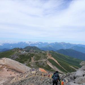 私でも日帰りで登れる唯一の3000m峰、乗鞍岳に登ってみた