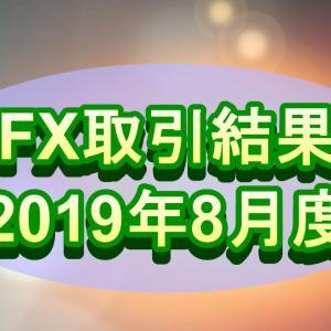 【FX】2019年8月取引結果