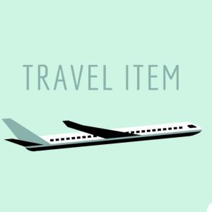 機内に何を持っていけばいい?海外旅行の必需品3つ!