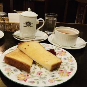 大阪西梅田 死ぬまでに再訪したいモーニング London Tea Room