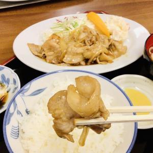 小中野 創業91年目のキクヤ食堂! 今ところ市内で1番美味しい豚の生姜焼き定食