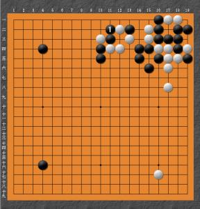 【囲碁】私の実戦から:コウの粘り