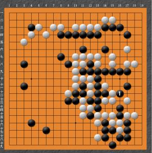 【囲碁】私の実戦から:ノゾキについだばかりに