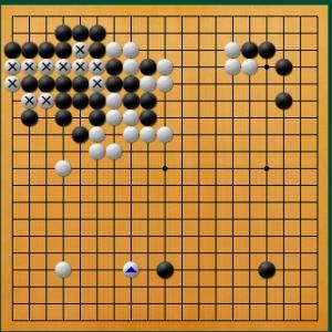 【囲碁】私の実戦から:不用意につけるのは良くない。