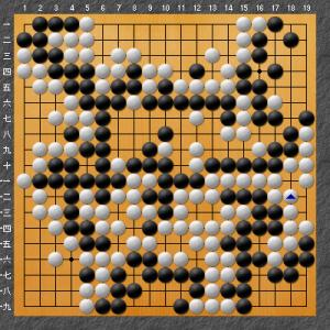【囲碁】私の実戦から:手入れの問題