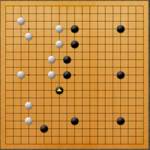 【囲碁】十段戦・高川格vs藤沢朋斎の棋譜