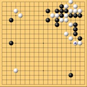 【囲碁】私の実戦から:シンプルで破壊力中くらいの手筋
