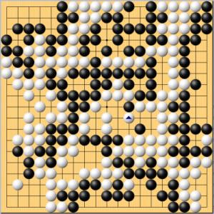 【囲碁】私の実戦から:まさかここで投了するとは。