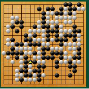 【囲碁】私の実戦から:このアテに無駄はないと思ったのだが。