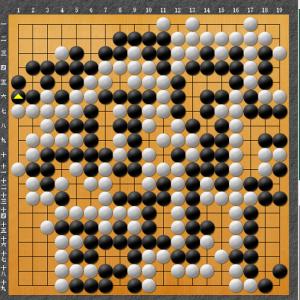 【囲碁】私の実戦から:実戦の詰碁