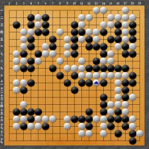 【囲碁】現ナマか厚みか:本因坊戦第7局より