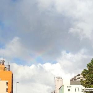 虹が出てました。空好き☆