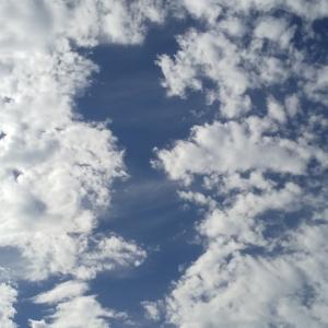 空を見上げて…ポジティブエネルギー