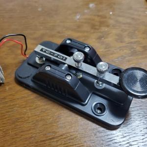 夢の欧文モールス通信     練習用電鍵購入