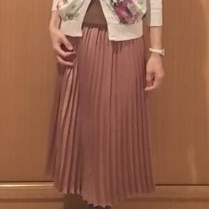 コーデ:Liala×PG花柄カーディガン×イッツデモ スカート