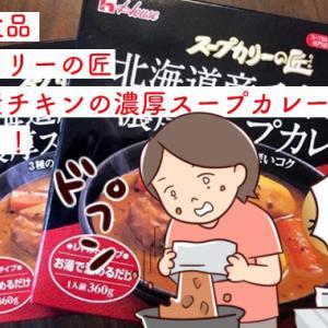 ハウス食品「 スープカリーの匠・北海道産チキンの濃厚スープカレー」をお試し!