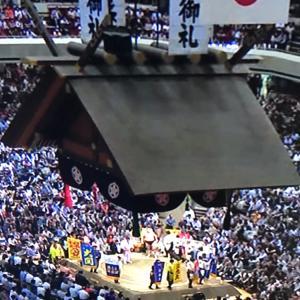 激戦⁉️大相撲秋場所13日目とハナハナの天才saku