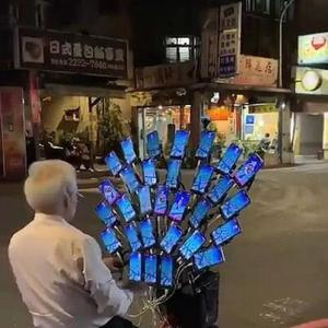 携帯30台でポケモンGOをプレイする人をみた真顔の大先生の一言