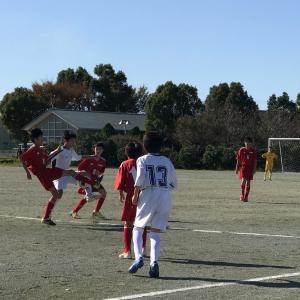 11月10日(土)AGFカップ三重県新人大会予選ブロックvs久居東・明和