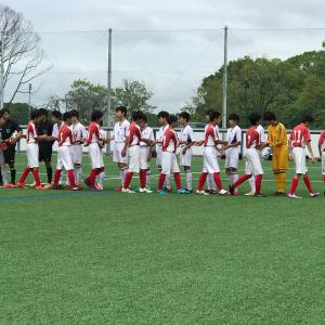 7月14日(日)三泗地区中学校サッカー大会2回戦 vs常磐