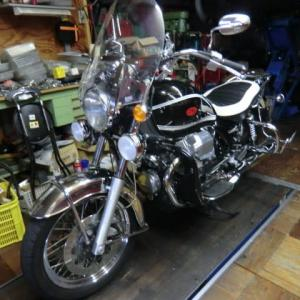 MOTO GUZZI (モトグッチ) CALIFORNIA Vintage が車検・メンテナンスで入庫