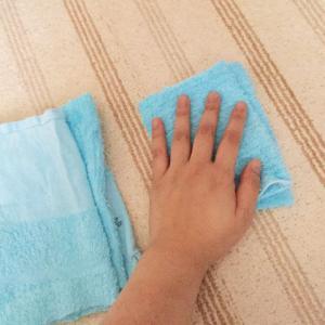 ウエス(使い捨て雑巾)を作る