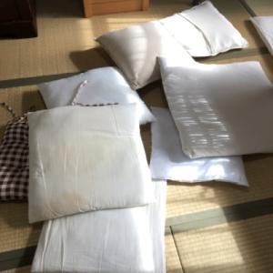 洗濯日和で家中のカーテンの洗濯