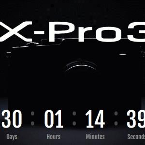 富士フイルム ミラーレスカメラ「X-Pro3」の開発を発表!