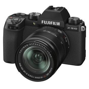 手ブレ補正機能搭載の「FUJIFILM X-S10」新発売!