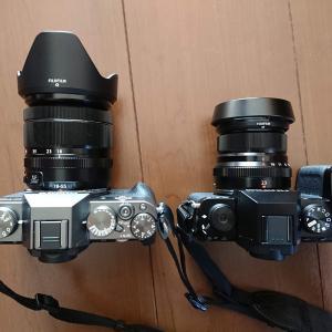 FUJIFILM X-S10とX-T30の設定を使いやすく変更してみた。