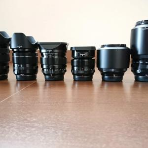 FUJIFILM 私が所有したレンズとカメラの変遷を整理してみた。