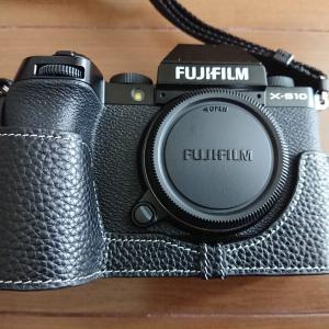 FUJIFILM X-S10 TP Original の本革ボディケースをAmazonで購入した。