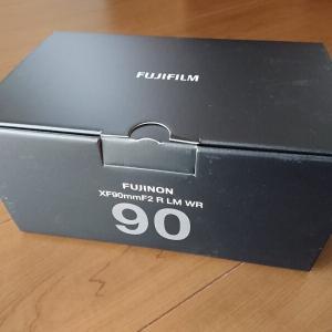 FUJIFILM XF90mmF2 R LM WR を導入。FUJINONレンズで1番のボケ味と解像感。