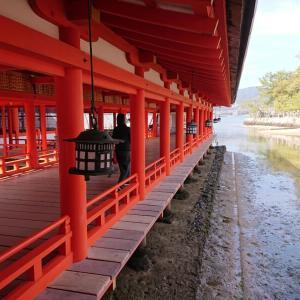 広島観光 2021年 今年になって初めての厳島神社参拝