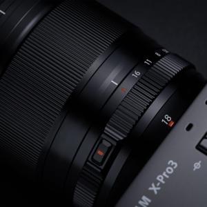 FUJIFILM XF18mmF1.4 R LM WR。開放F値1.4の広角レンズ新発売。