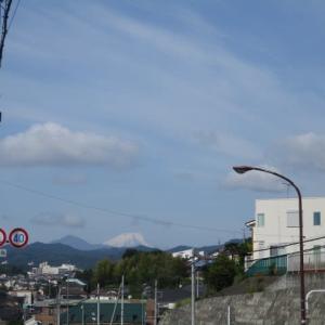 今朝は八王子から富士山が見えました!2020年5月25日