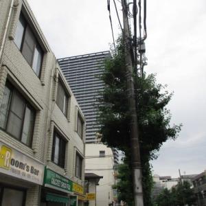 鉛雲が続く今朝の八王子駅南口周辺(2020年7月9日)