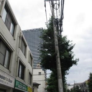 生暖かい空気の八王子駅南口周辺(2020年7月11日)