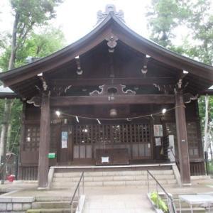 今日は富士森公園の浅間神社で骨董市が開かれるようです(2020年7月11日)