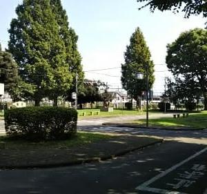 娘と東浅川町の交通公園へ