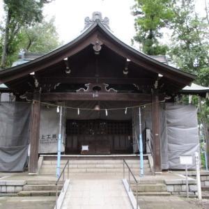 冷たい空気に変わってきた今朝の富士森公園(2020年9月29日)