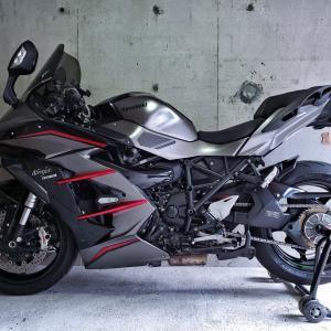 Ninja H2 SX SE+ 次のタイヤもロッコル2