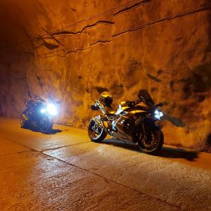 Ninja H2 SX SE+ 極寒の房総トンネル巡り